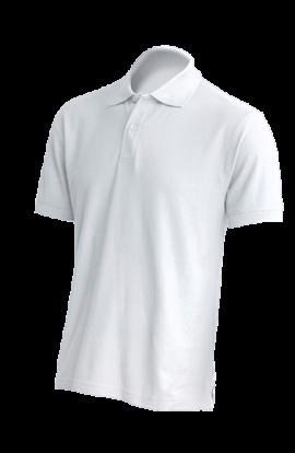 Polo Manica Corta Uomo Bianco 210gr